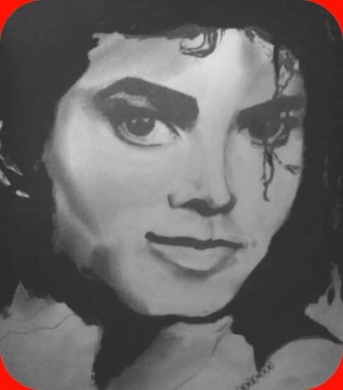 Michael Jackson par dessin-graphite-du29